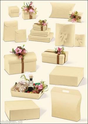 scatole per cerimonie colore avorio