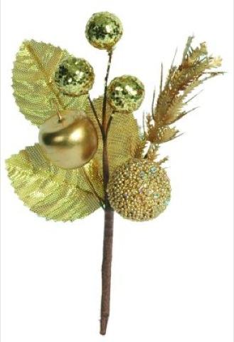 decorazione frutti d´ oro